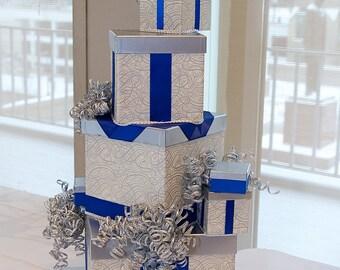 Winter Wedding Card Box