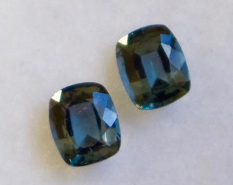 Natural Spinel Pair Cushion Cut