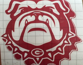 Georgia Bulldog Vinyl Decal