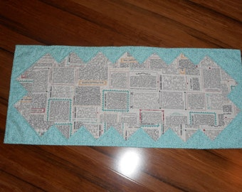Recipe Table Runner
