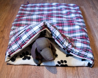 Large Fleecy Snuggle Tunnel for Dogs or Cats
