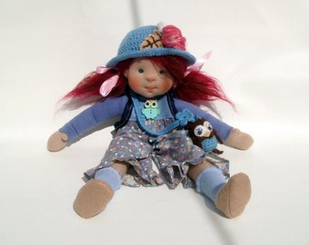 Waldorf Doll, Stainer Doll. Gift doll, Doll for girls, Handmade doll