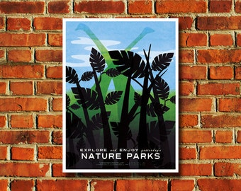 Nature Parks Poster - #0444