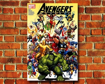 Avengers Comic Book Cover - #308