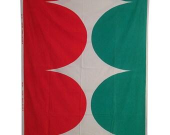 1967 Marimekko tablecloth titled Istuva härkä