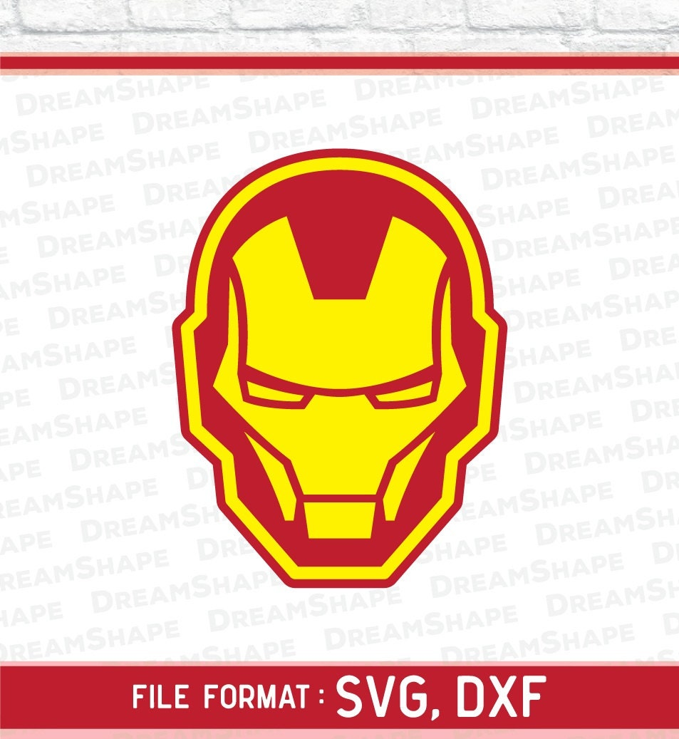 Super Hero SVG Cut File, Iron Man SVG Files, Ironman SVG ...