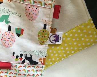 Changing mat (can be matched to your diaper bag / weekend bag) * contact ME - on order only - fabric choices *.