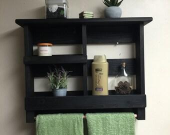bathroom shelf rustic bath towel rack copper towel bar bathroom organizer rustic