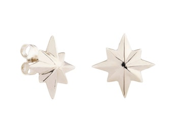 Cold Out There Star Earrings (customizable)
