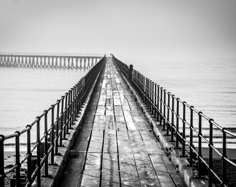 The South Pier at Blyth in Northumberland
