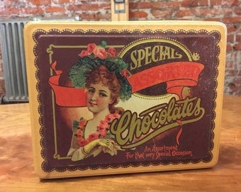 Special Assorted Chocolates Commemorative Gift Can