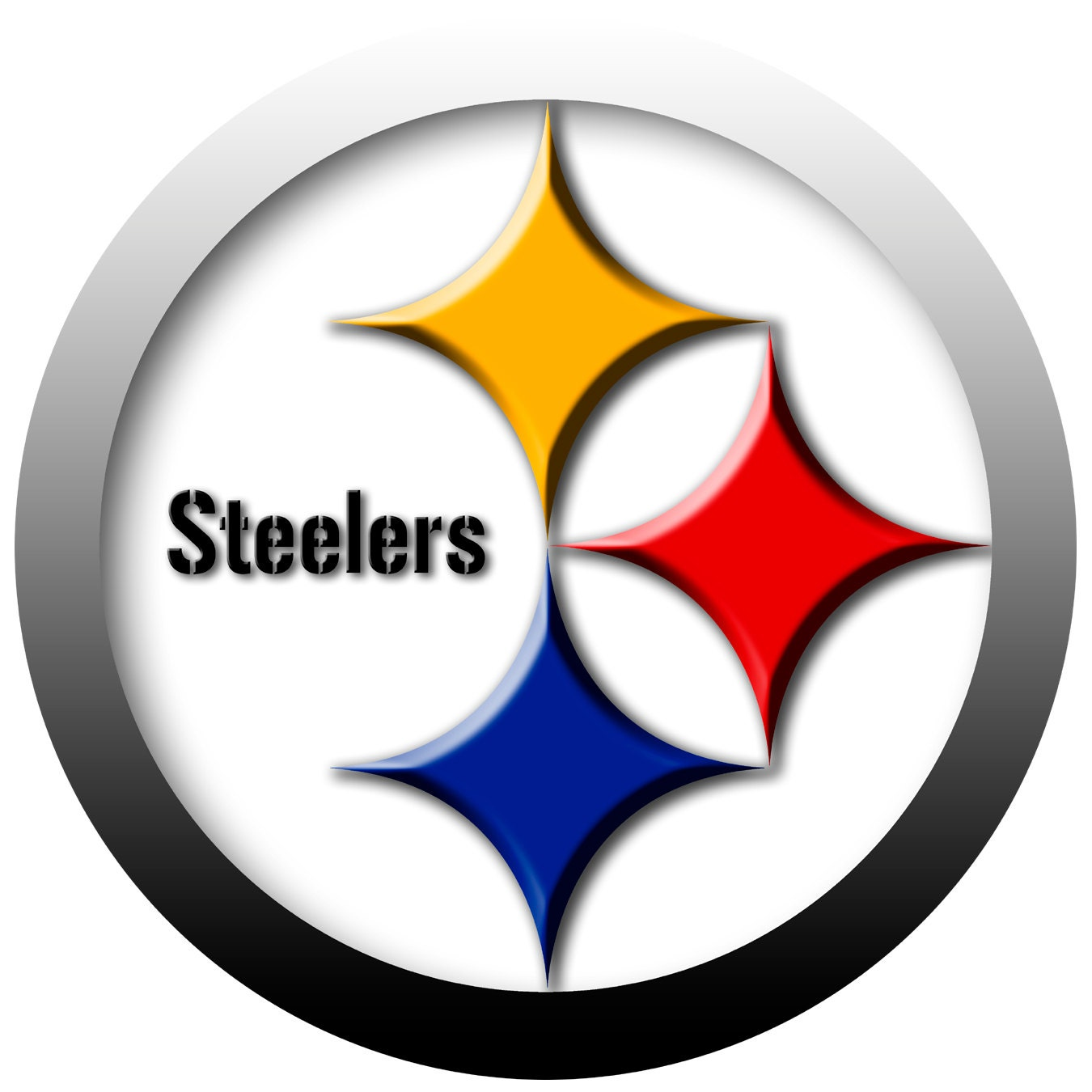 Lucrative image throughout printable steelers logo