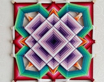 "Mandala Ojo de Dios ""Magic"""