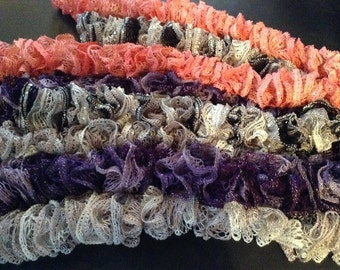 Thread lace scarves