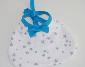 Bib bowtie * stars - birth gift