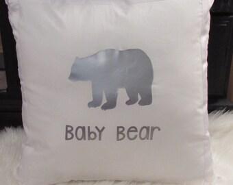 Baby Bear Pillow