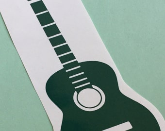 Acoustic Guitar Decal
