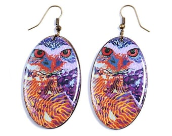 Undulating OWL - Shamanic trend