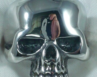 Anello teschio in argento 925 millesimi Keith Richard sterling silver skull ring