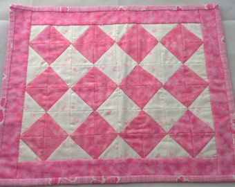 Quilted Flannel Doll Blanket