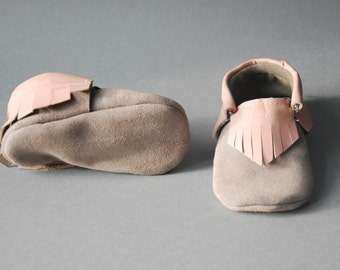 "Moccasins/Moccs/Slippers/Babyshoes ""Princess"""