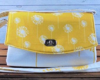Yellow Dandelion Glenda Bag/clutch