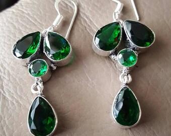 Green Quartz Earrings!
