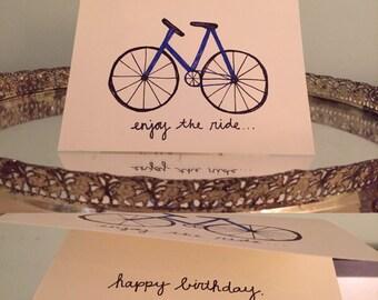 enjoy the ride; happy birthday
