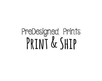 Simple Designed Print & Ship