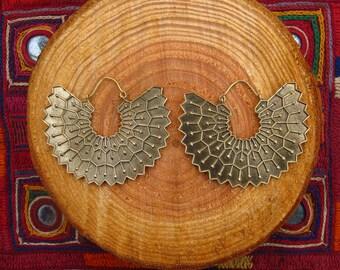 Earrings - winged