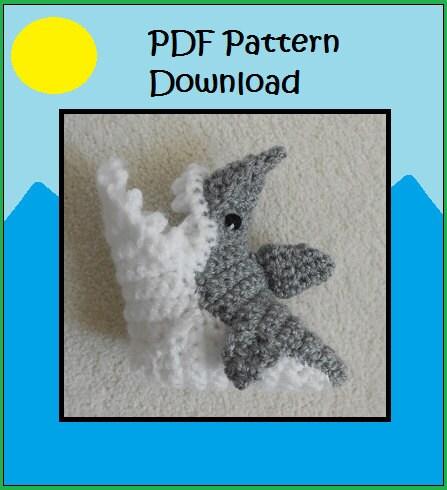 Crochet Pattern For Baby Shark Booties : PATTERN: Crochet Shark Booties Shark Socks Shark Attack Baby