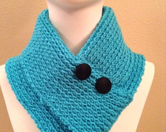 Scarf with buttons / scarf with buttons