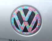 VW Emblem Cover Decal