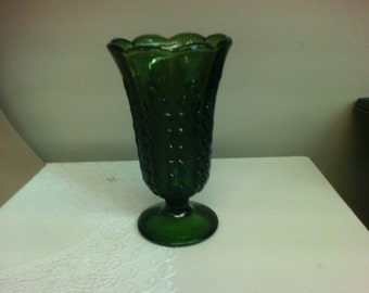 Vintage E. O. Brody Co. Emerald Green Vase