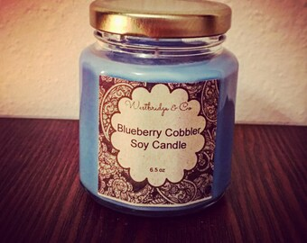 Blueberry Cobbler Soy candle by Westbridge&co