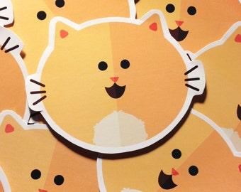 Orange Cat Stickers (LIMITED EDITION)