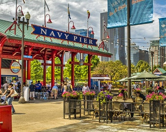 Summer fun at the Navy Pier in Chicago
