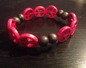 Peace Stretch Bracelet