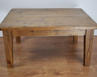 Hand Crafted Solid Pine Coffee Table