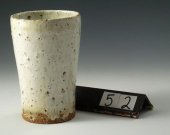 Stoneware cup with Monterey Beach Sand #52