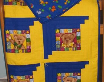 Teddy Bear Boy Quilt