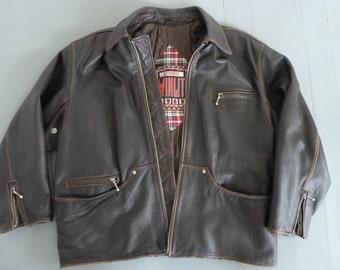 WINLIT leather Motorcycle jacket