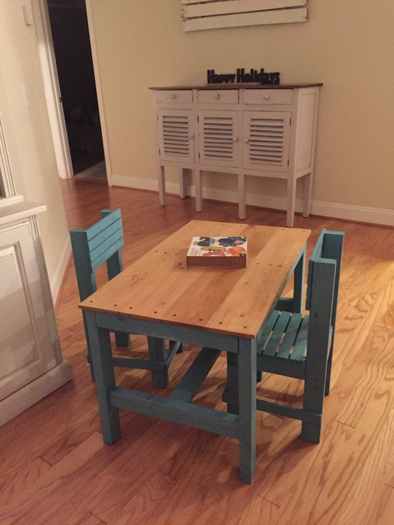 Wooden Children s Table and Chairs