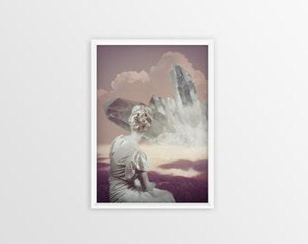 Fine Art Print - Digital Collage
