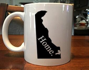 Delaware Home Coffee Mug