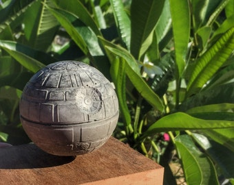 Concrete Death Star-mounted