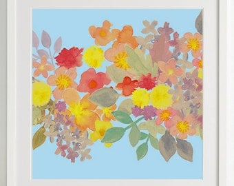 Spring blossoms print
