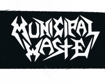 Municipal Waste Thrash Metal Band Patch
