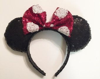 Classic Dots Sequin ears