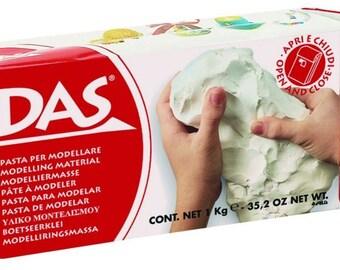 DAS air hardening clay 2.2 lb white or terracota